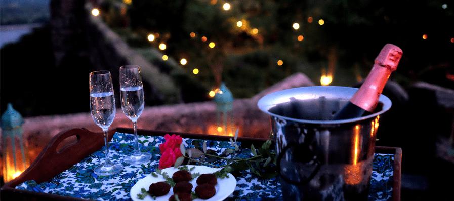 Private Champagne Evening…