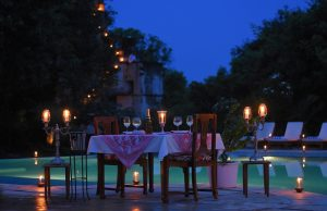 CANDLE LIT DINNER AT THE POOL-1