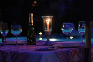 CANDLE LIT DINNER AT THE POOL-2