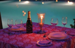 CANDLE LIT DINNER AT THE POOL-4