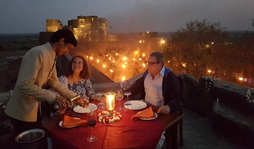 Dhikhola Fort Dinner